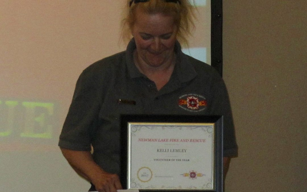 Kelli Lemley Named Volunteer of the Year!
