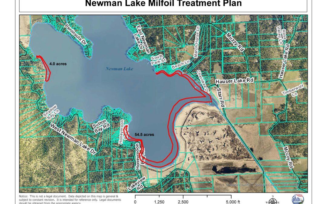 Milfoil Treatment 2021